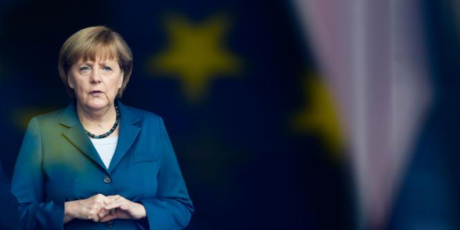 La chancelière allemande Angela Merkel, à Berlin, le 3 juin.