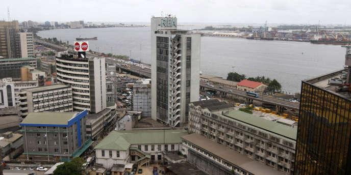La ville de Lagos.