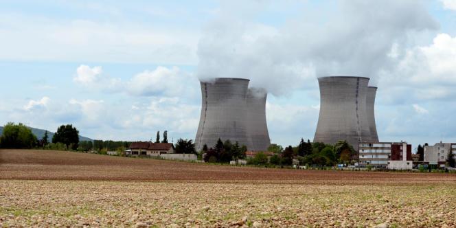 La centrale nucléaire duBugey, dans l'Ain.
