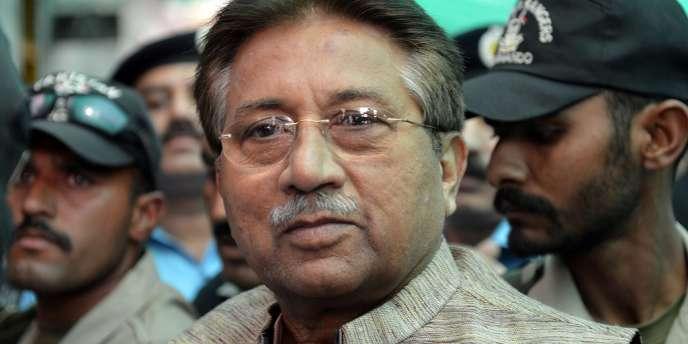 L'ancien président Pervez Musharraf, en avril 2013.