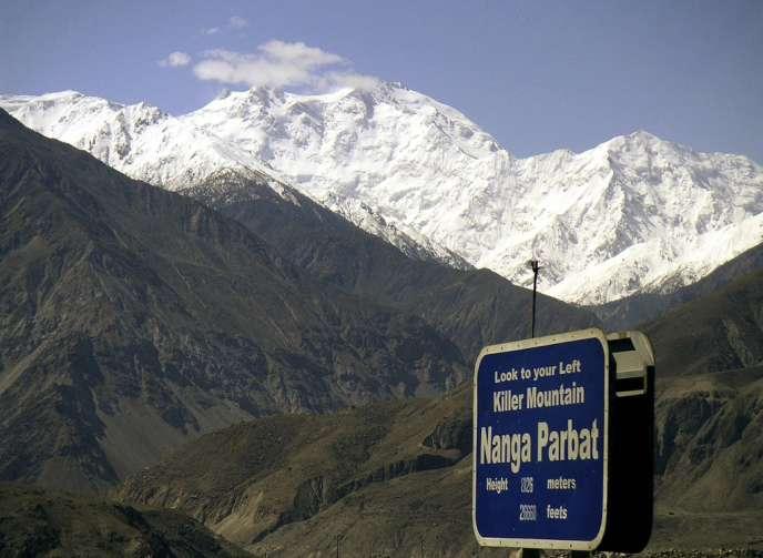 Le Nanga Parbat, au Pakistan, neuvième plus haut sommet de la planète.