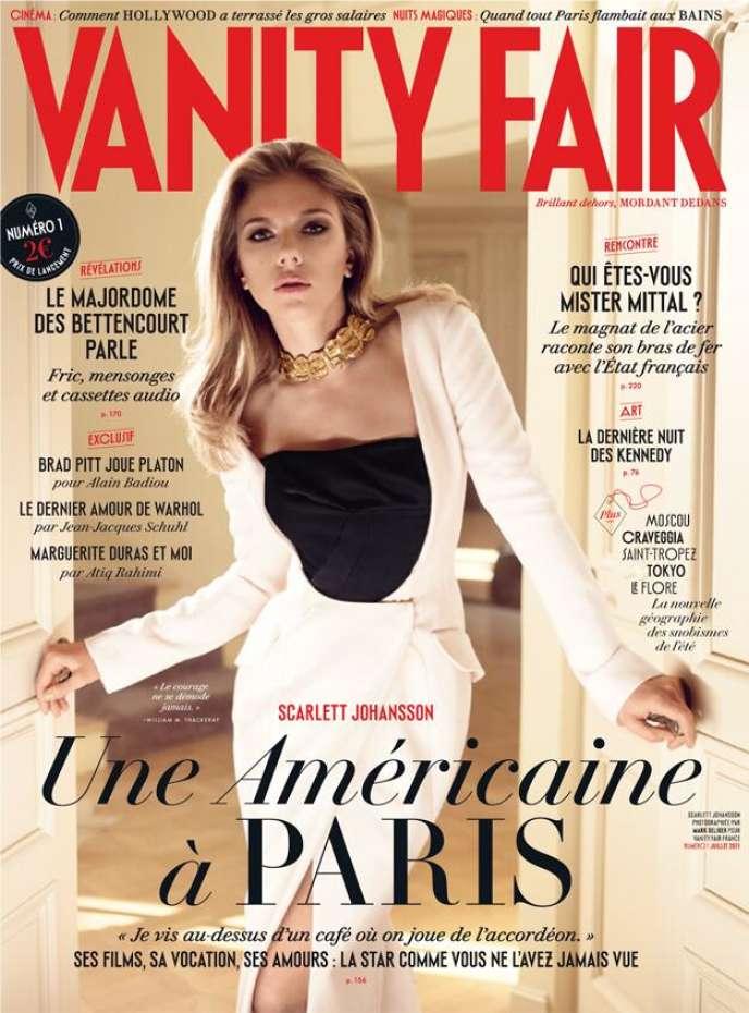 Le groupe de presse américain Condé Nast est à la tête de 140 magazines dans 25 pays et l'éditeur de Vanity Fair en France (première couverture de