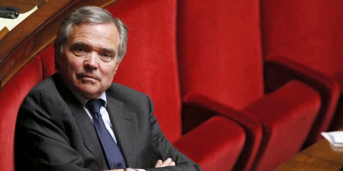 Bernard Accoyer à l'Assemblée nationale, le 15mai2013.