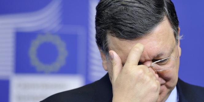 José Manuel Barroso, le 24 juin à Bruxelles.
