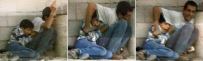 Les images de cet enfant avaient été très largement diffusées dans le monde entier et donné lieu à une polémique sur l'origine des tirs ayant provoqué sa mort.