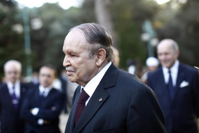 Le président Bouteflika le 19 décembre 2012.