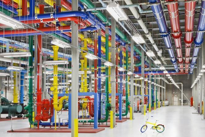 Le système de refroidissement du centre de traitement de données de Google, à Douglas County (Géorgie).
