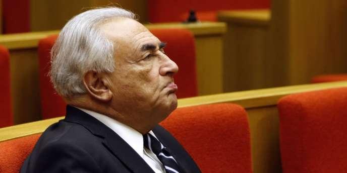 L'ancien directeur général du Fonds monétaire international, mercredi 26 juin au Sénat.