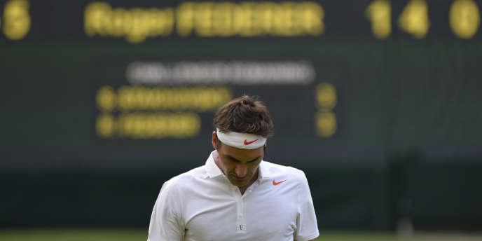 Roger Federer va déjà sortir du top 4 mondial pour la première fois depuis dix ans.