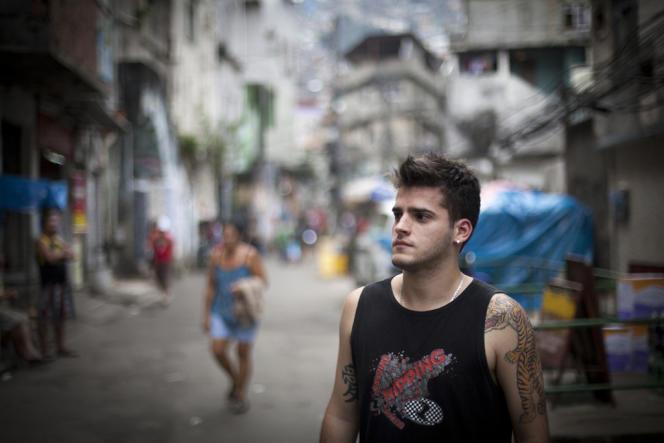 A Rio, Pablo de Amorin Ribeiro, 24 ans, dit