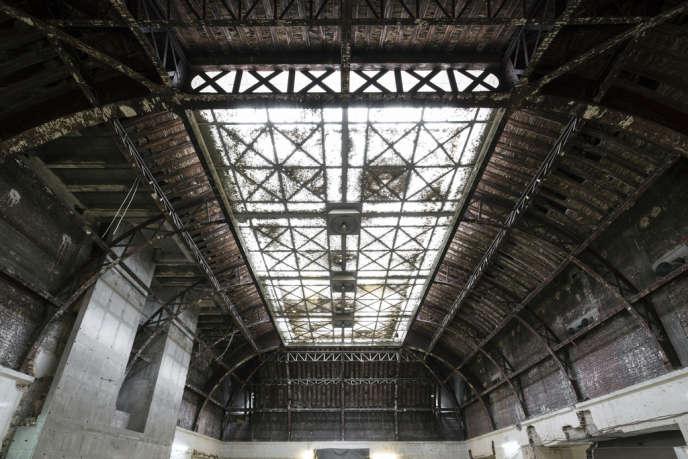 La grande verrière du Musée de l'homme rénovée.