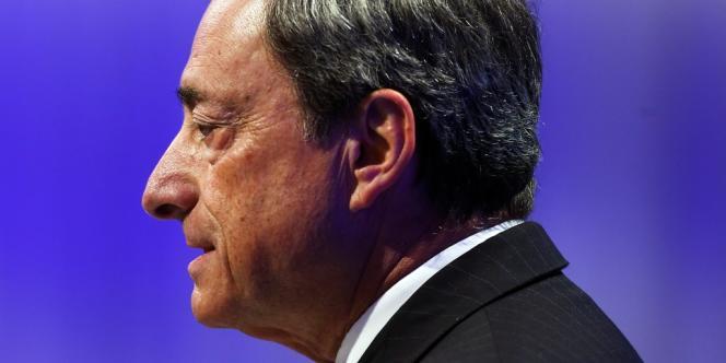 Le président de la BCE, Mario Draghi, le 25 juin 2013.