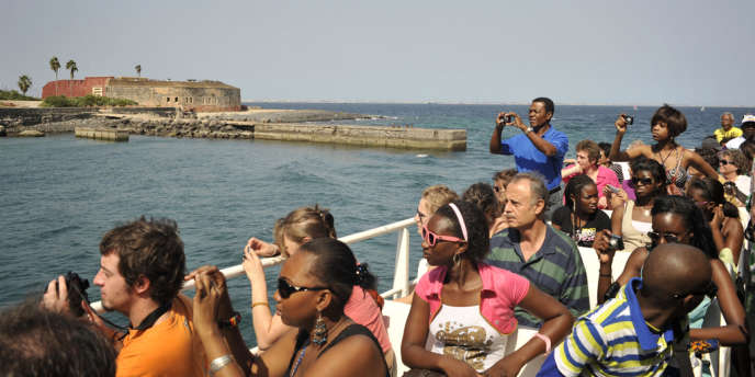 Aux abords de l'île de Gorée, au Sénégal.