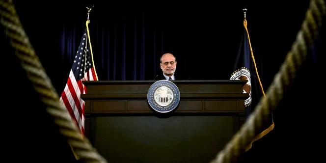 Ben Bernanke, le président de réserve fédérale américaine.