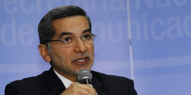 Fernando Alvarado, le ministre des communications équatorien, le 27 juin.