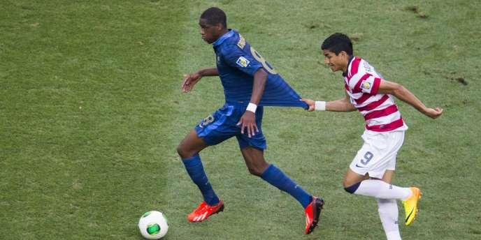 Geoffrey Kondogbia contre les Etats-Unis.
