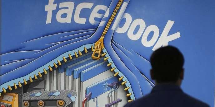 Au quartier général de Facebook, à Menlo Park (Californie), le 15 mars 2013.