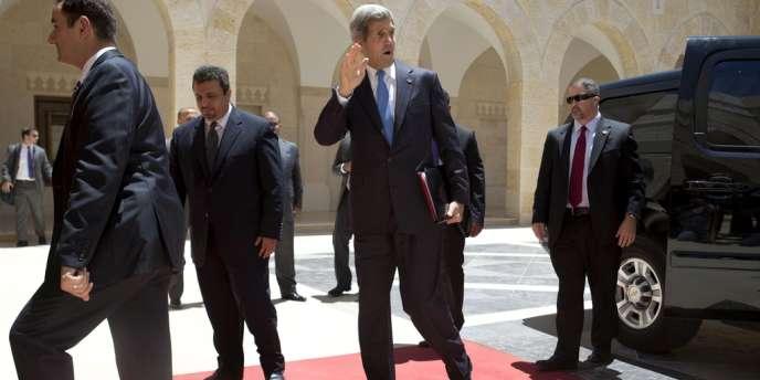 John Kerry à son arrivée à Amman jeudi 27 juin.