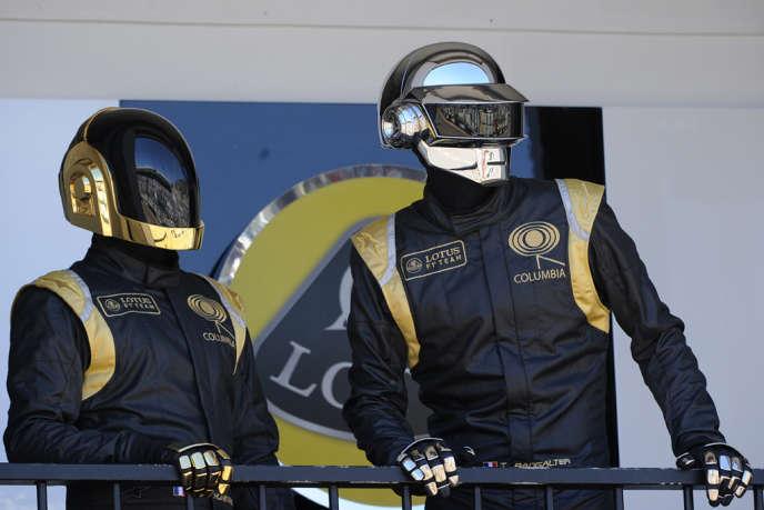 Les Daft Punk au Grand Prix de Monaco, en mai 2013.