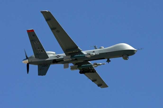 Un drone MQ9 Reaper américain.