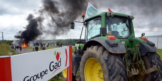 Les suppressions d'emplois concerneront surtout l'activité abattage/découpe de Lampaul-Gimiliau dans le Finistère.