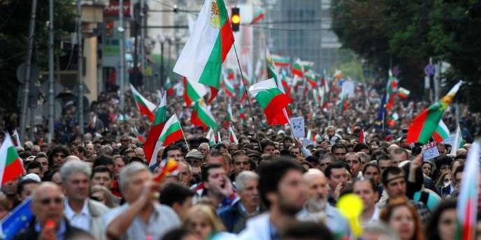 Manifestation antigouvernementale, le 27 juin à Sofia.