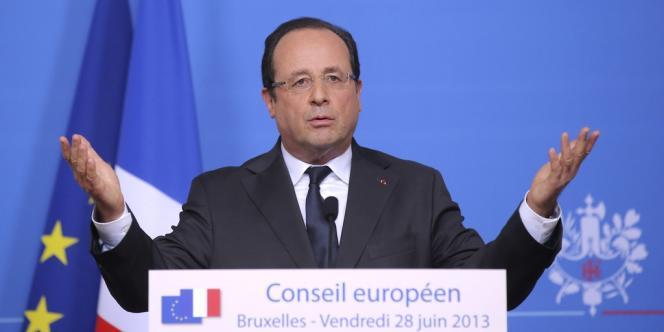 François Hollande, le 28 juin lors du Conseil européen.