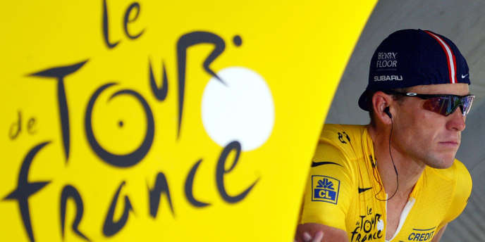 Lance Armstrong, le 21 juillet 2004.