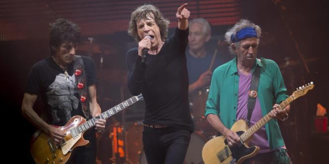 Les Rolling Stones en concert à Glastonbury, samedi 29 juin.