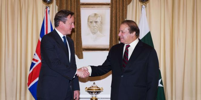 David Cameron rencontre  Nawaz Sharif, dimanche 30 juin.