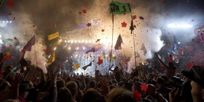 Les Rolling Stones au festival de Glastonbury, samedi 29 juin.