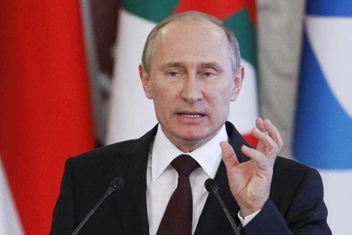 Vladimir Poutine à Moscou, le 1er juillet.