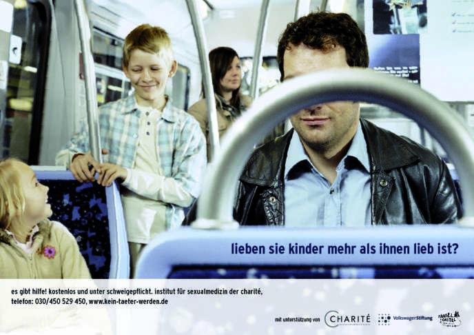 « Aimez-vous les enfants plus que vous ne l'aimeriez ? » L'affiche sur laquelle est posée cette question a été diffusée en Allemagne en 2005, dans le cadre de la campagne de prévention du projet Dunkelfeld.