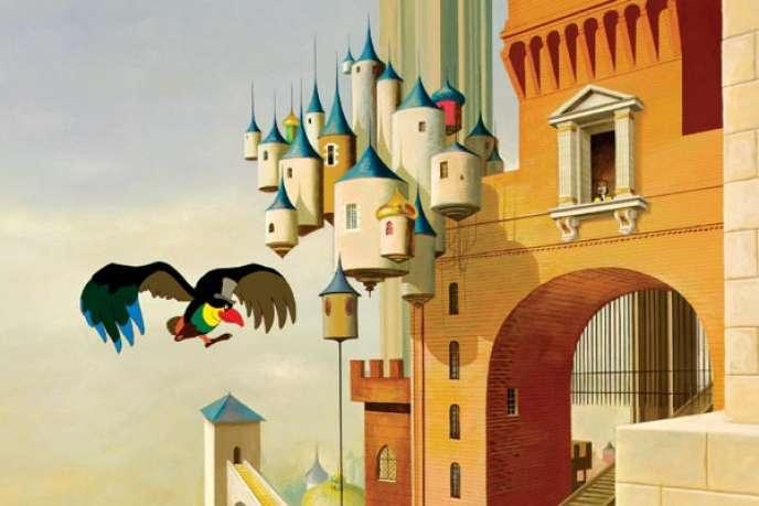 Une image du film d'animation français de Paul Grimault,