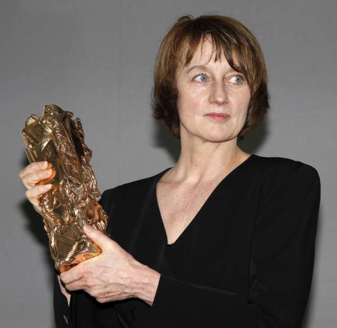 Caroline Champetier à la 36e cérémonie des Césars à Paris, le 25 février 2011.