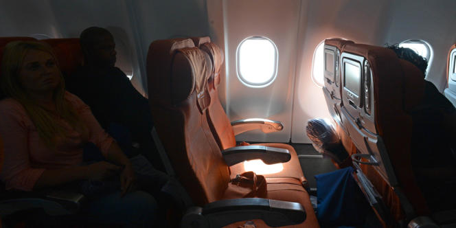 Le siège vide du vol Moscou-La Havane qui aurait été réservé au nom d'Edward Snowden, le 24 juin.