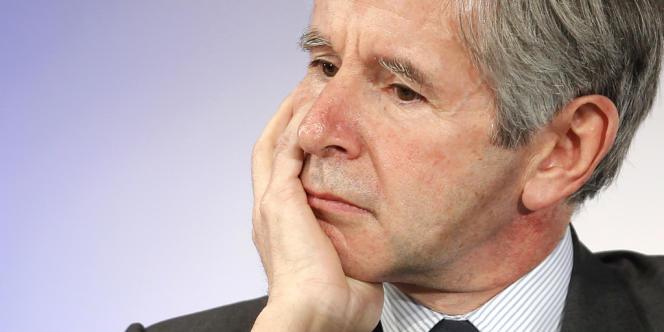 Alain Minc, le 5 janvier 2012 à Paris.