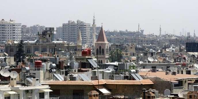 Une voiture piégée a explosé lundi 1er juillet dans le quartier de Kfar Sousa à Damas.