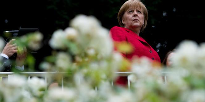 La chancelière allemande à Bonn le 29 juin.