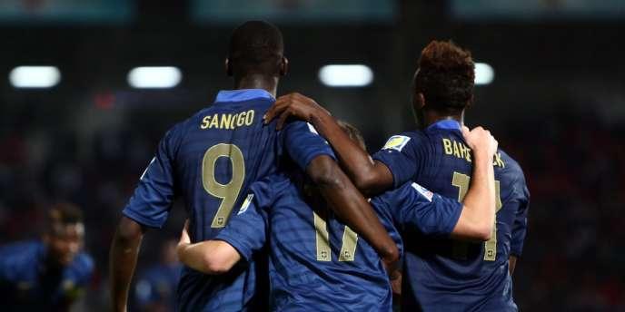 Les Bleuets ont battu la Turquie en huitièmes de finale de la Coupe du monde des moins de 20 ans, le 2 juillet à Gaziantep.