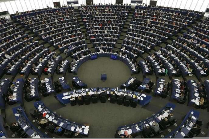 Le Parlement européen, à Strasbourg le 3 juillet.