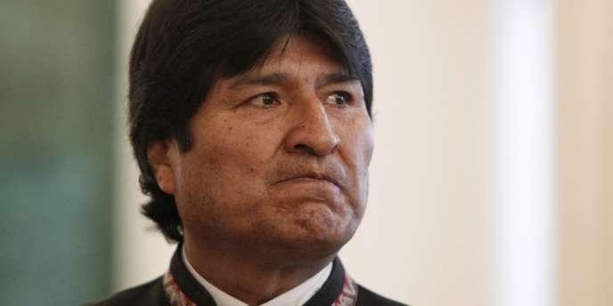 Le président bolivien Evo Morales, à Moscou, le 1er juillet.