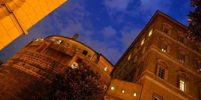 Le siège de la banque du Vatican, le 18 février 2012.