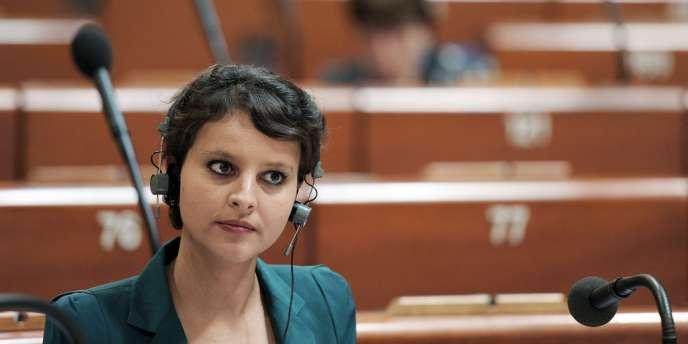 Najat Vallaud-Belkacem, le 27 juin à Strasbourg.