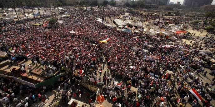 La place Tahrir au Caire, le 3 juillet.