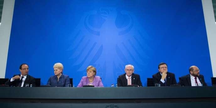 A Berlin, l'Allemagne et la France se sont mis d'accord concernant le début des négociations transatlantiques.