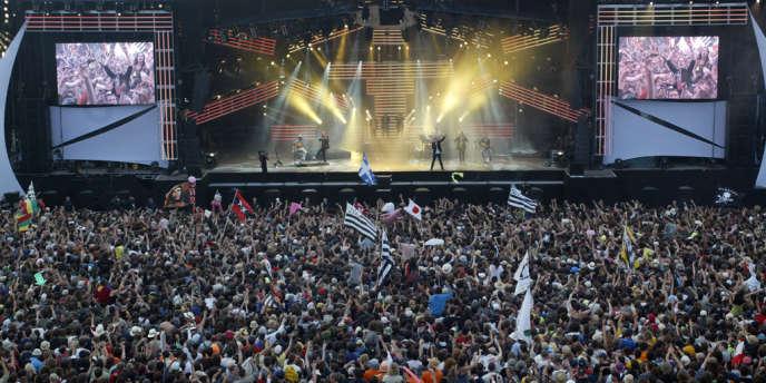 Créé en 1992, Les Vieilles Charrues à Carhaix-Plouguer (Finistère) est l'un des plus grands festivals de musique de France.
