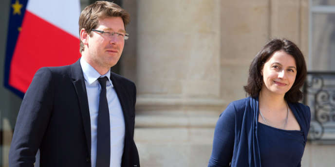 Pascal Canfin et Cécile Duflot, le 17 avril.