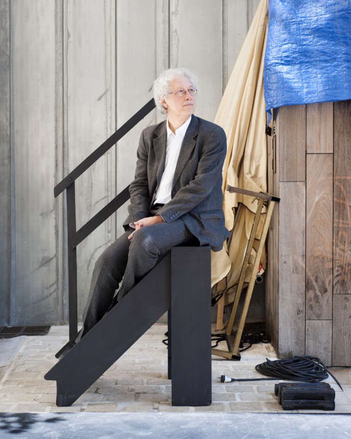Bernard Foccroulle, directeur du Festival international d'art lyrique d'Aix-en-Provence, au Théâtre de l'Archevêché, le 28 juin 2013.