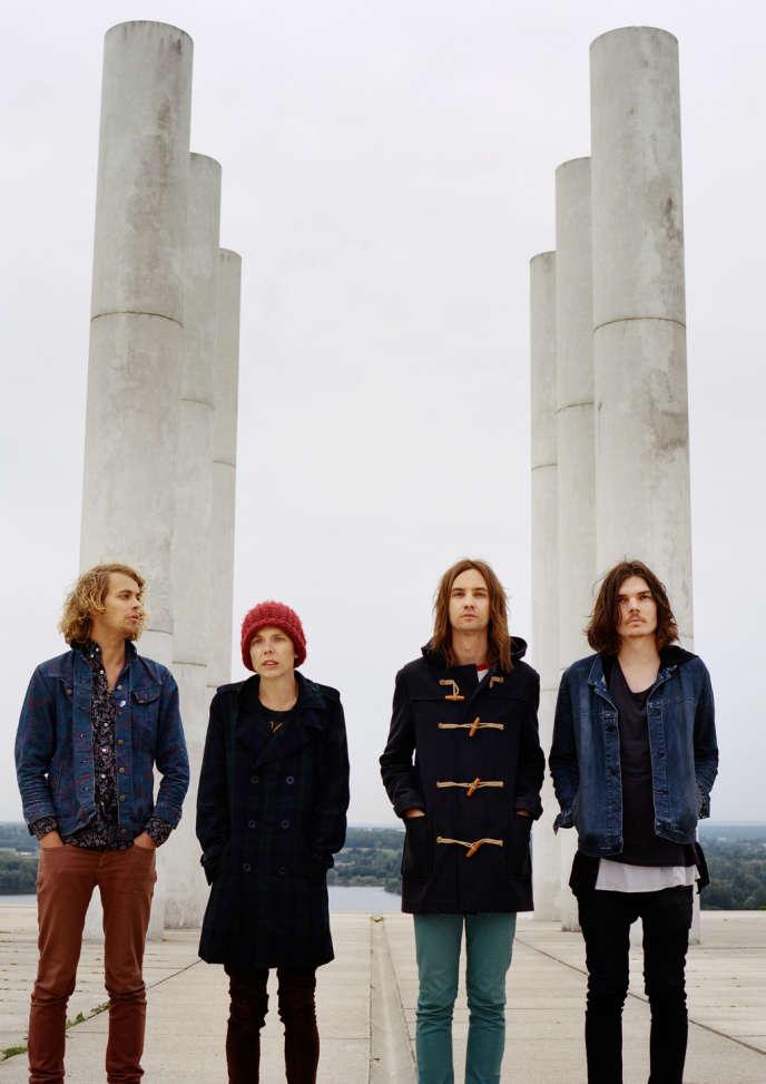 Les quatre rockeurs de Tame Impala sont originaires de Perth, en Australie.